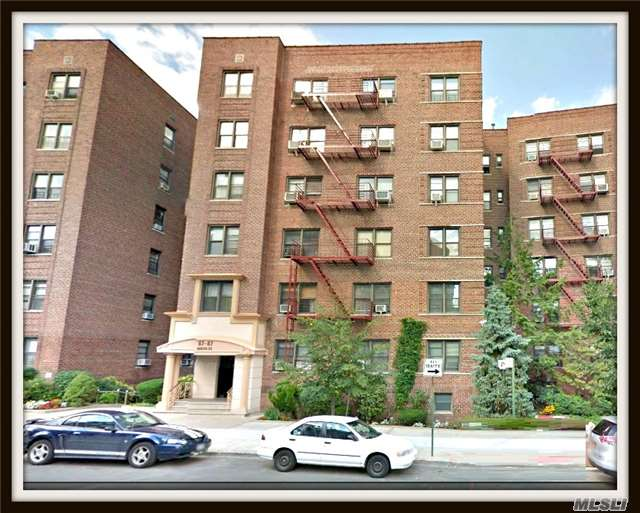 Come See This Beautiful Top Floor Coop Apartment Located In The Heart Of Forest Hills.  Only Minutes Walk To Express Subway, Lirr  And Shopping.  This Unique Apartment Offers A Fully Renovated Kitchen & Bath, Separate Living Room And Dining Room.  Hard Wood Floors Accentuate This Masterpiece.  Wont Last!