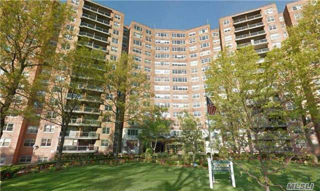 Luxury Hi-Rise 1 Bedroom Apartment Facing Flushing Meadows Park Lake. Gorgeous Views. Parquet Floors. G/E Included In Maintenance.24 Hr Doorman, In-Ground Swimming Pool & Cabana Makes You Feel Your On Vacation.