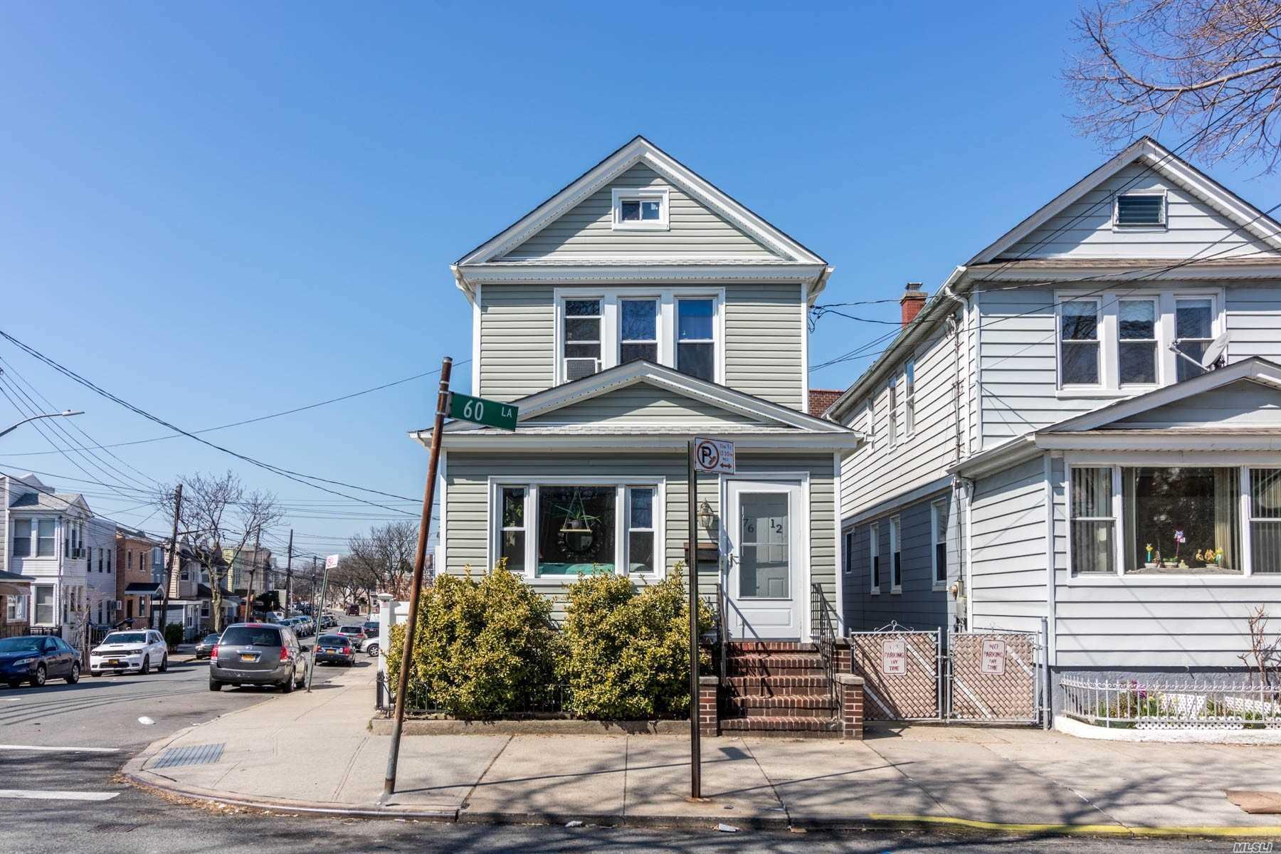 Property for sale at 76-12 60th Lane, Glendale NY 11385, Glendale,  New York 11385