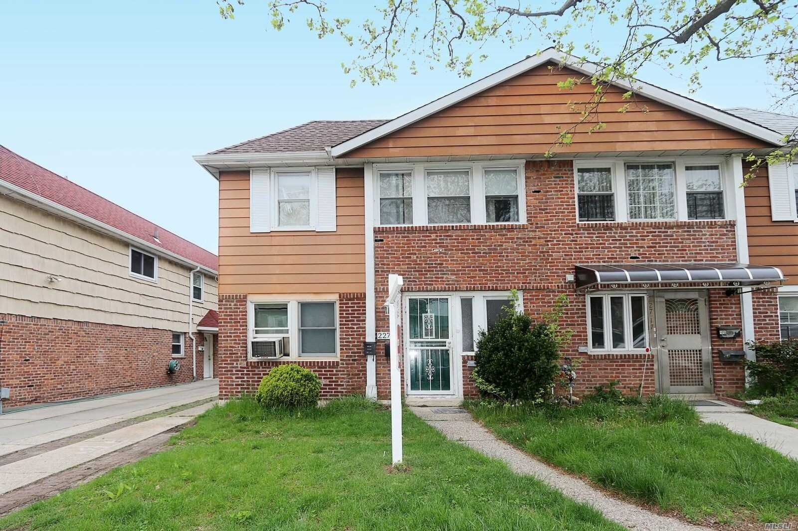 Property for sale at 227-15 57 Road, Bayside NY 11364, Bayside,  New York 11364