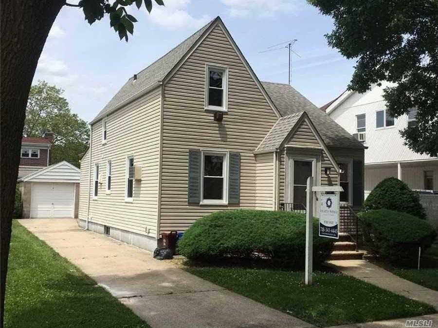 3 bedrooms, full Bath, Freshly Painted, Brand New Windows, Hard wood Floors, Granite  Counter Tops, All LED lighting, Full Basement with OSE, Washer & Dryer.   Great Starter House.