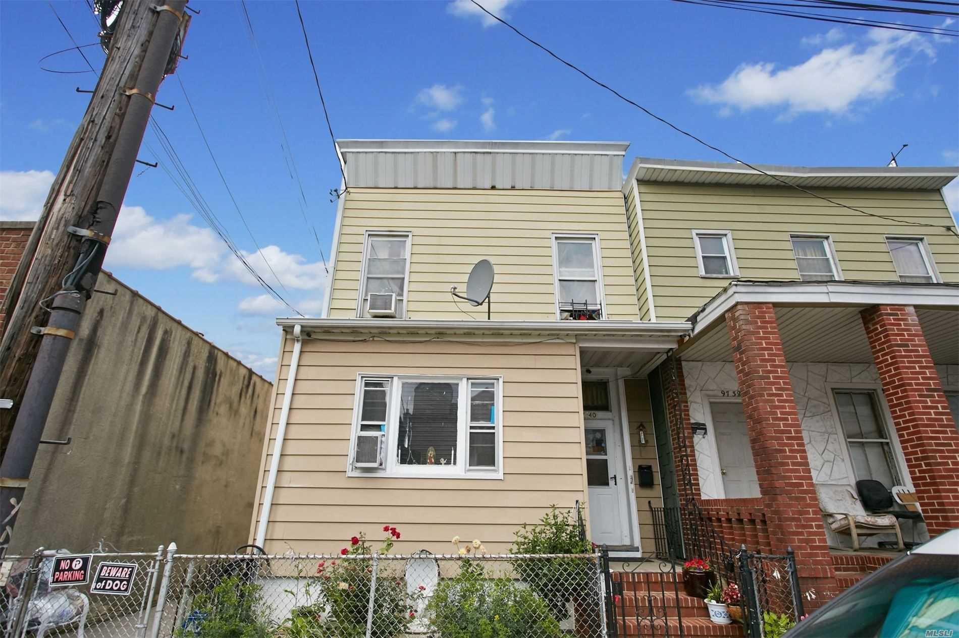 Property for sale at 9740 101st Street, Ozone Park NY 11416, Ozone Park,  New York 11416