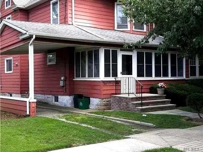 Old World charm in this 3 Bdrm colonial with carport and a 1 car garage.  Needs some TLC.