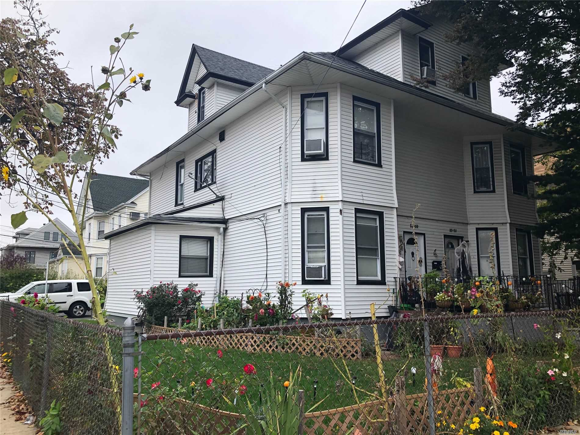 Property for sale at 85-54 106th Street, Richmond Hill NY 11418, Richmond Hill,  New York 11418