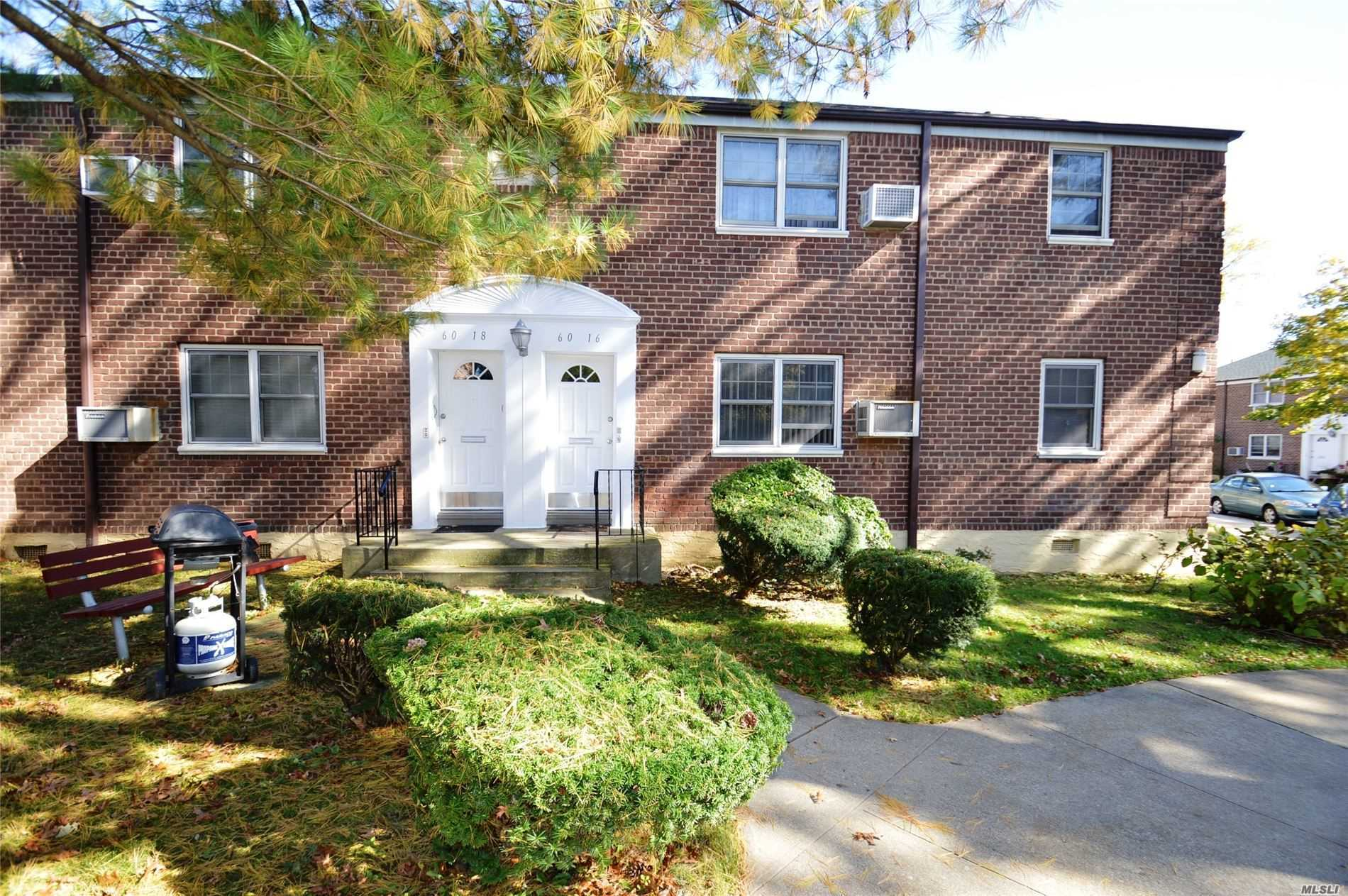 Location! Location! In Tree Lined Drive In Court. Triple Exposure Corner Unit. Freshly Painted & Kitchen with New Stove. Full Bath With New Vanity. Dining Room Can Be 3rd Bedroom. 2 Stickers For Parking. No Flip Tax. SD #26. Maintenance Includes All Utilities.