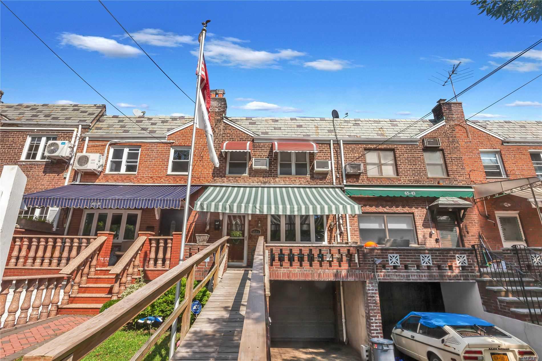Property for sale at 65-41 Alderton Street, Rego Park,  New York 11374