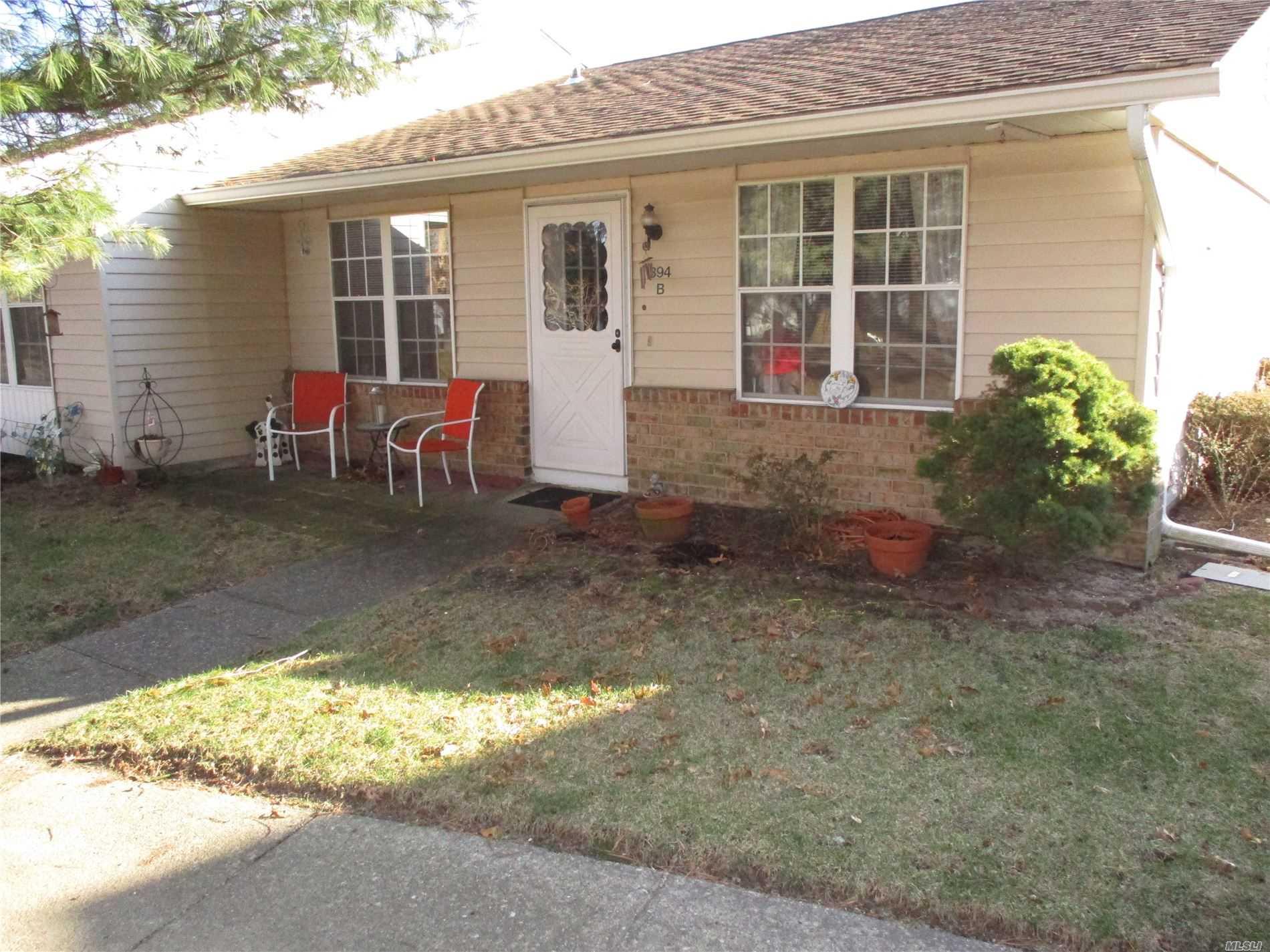 Property for sale at 394B Woodbridge Drive # 394B, Ridge NY 11961, Ridge,  New York 11961