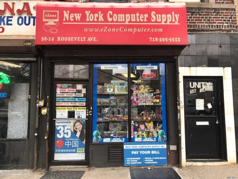 58-14 Roosevelt Avenue, Woodside, New York 11377, ,Business Opportunity,For Sale,Roosevelt,3199045
