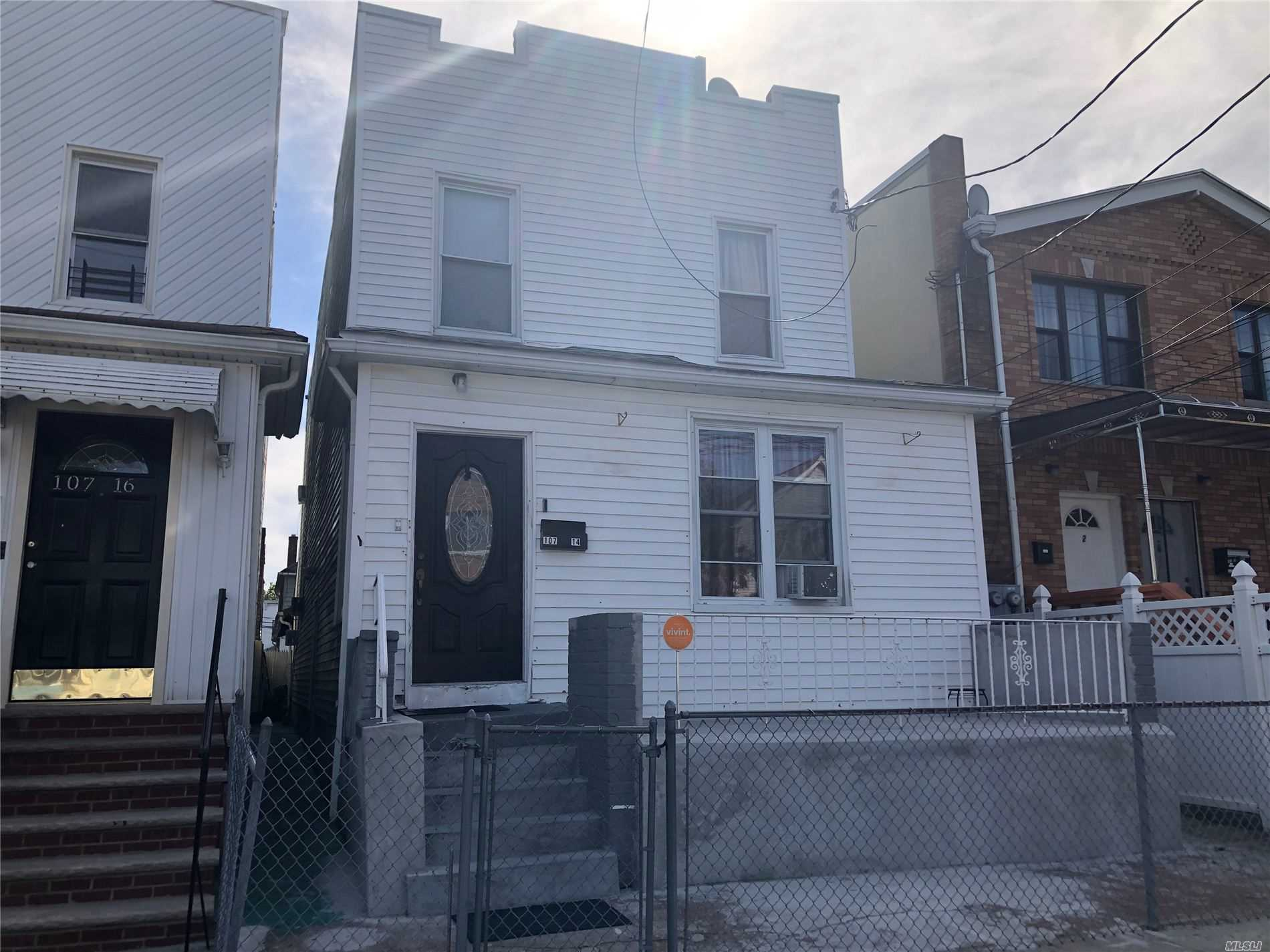 Property for sale at 10714 157th Street, Jamaica NY 11433, Jamaica,  New York 11433