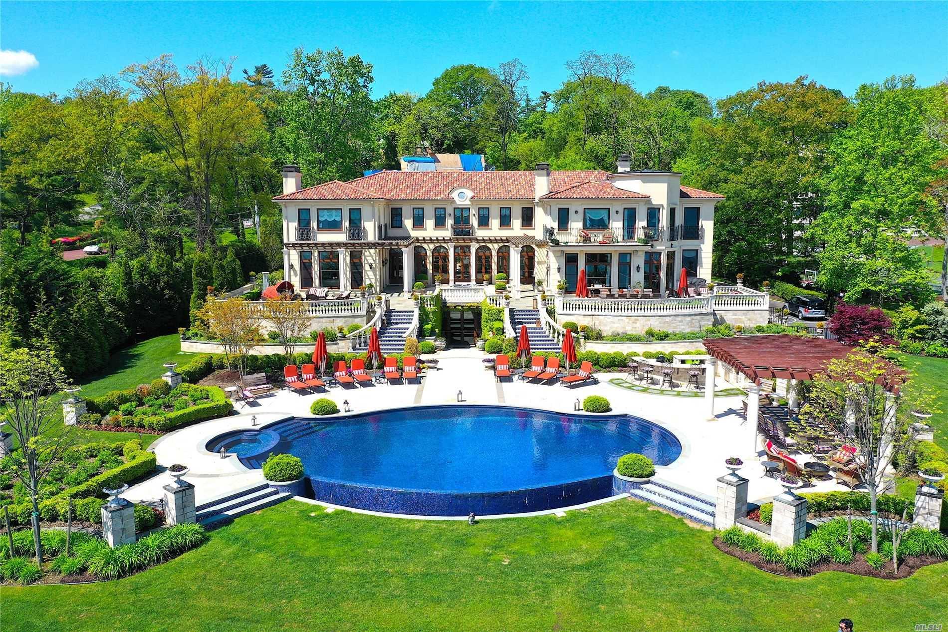 Villa Forte Way, Great Neck, New York 11024, 8 Bedrooms Bedrooms, ,9 BathroomsBathrooms,Residential,For Sale,Villa Forte,3211765