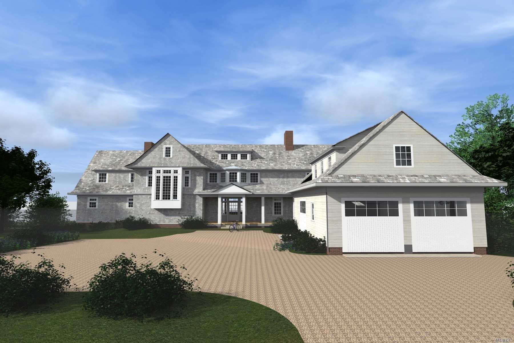 Quogue Village waterfront 192'of bulkhead canal frontage with boat slip. Complete with ocean views on cul de sac, this 1.3 acre lot already has Board of Health & DEC approval. Customize your home or view existing plans from the owners own renderings. Close to ocean beaches, golf, tennis and village. This location is a must see.