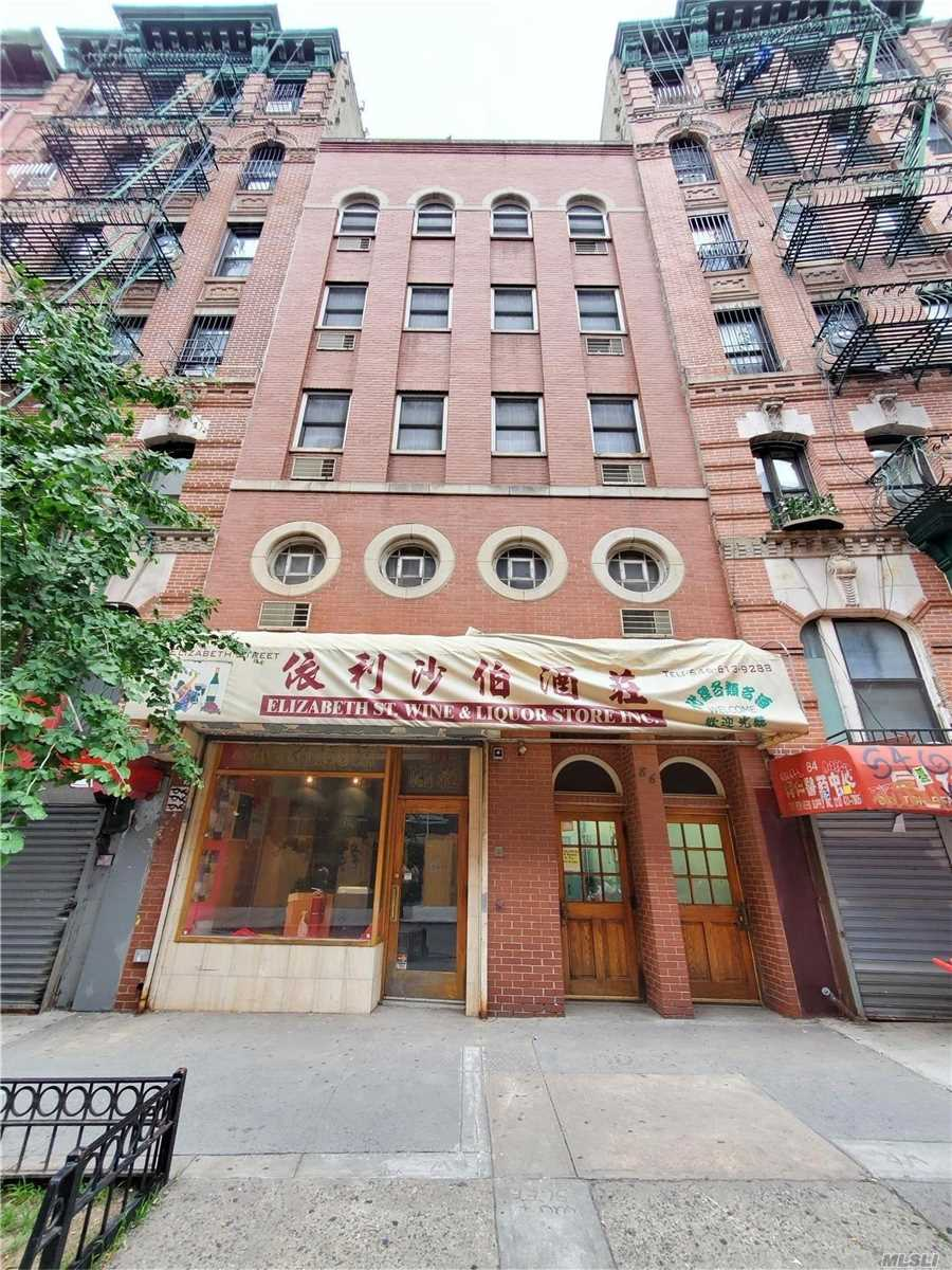 Commercial Sale in New York - Elizabeth St Street  Manhattan, NY 10013
