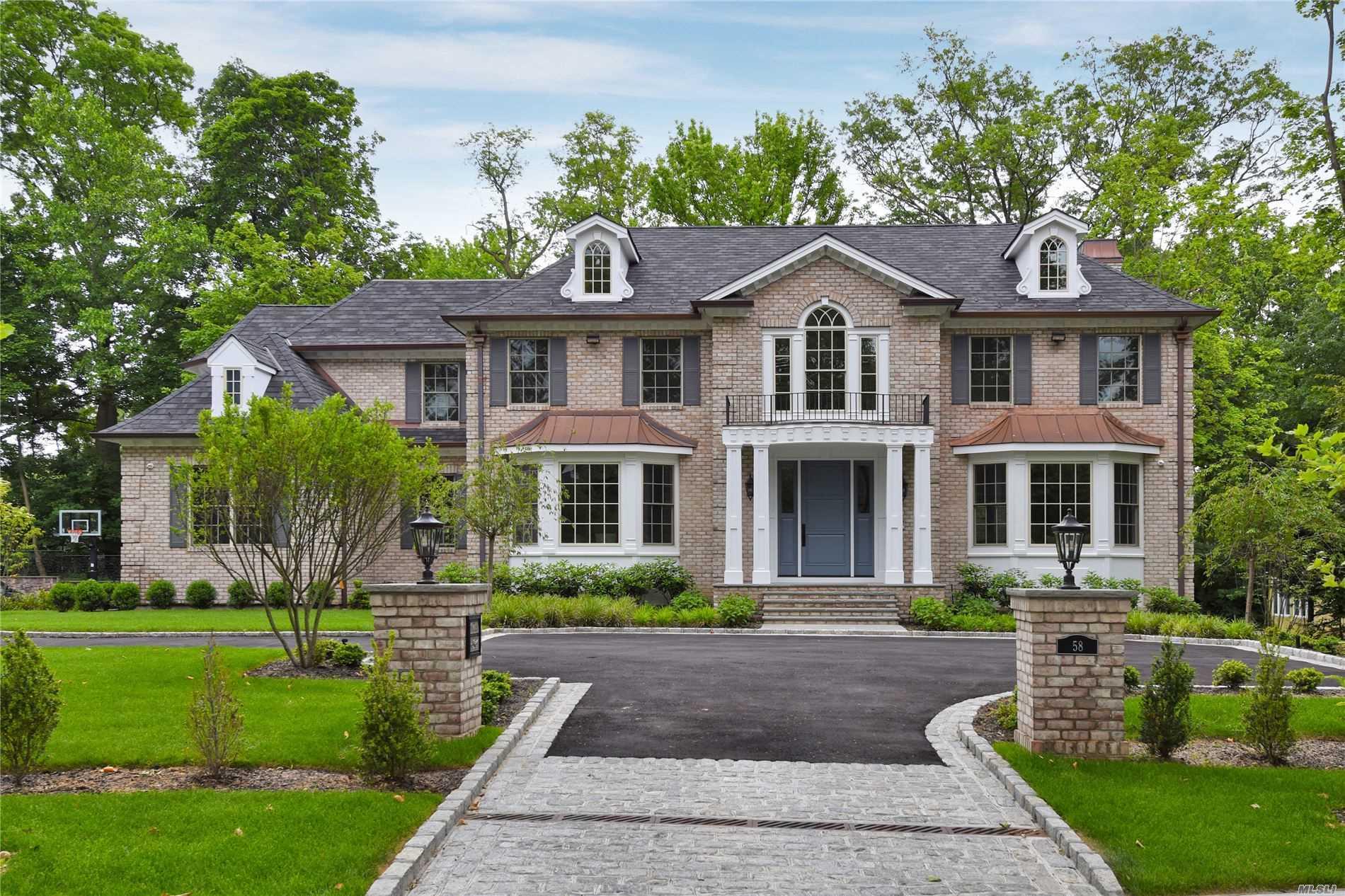 58 Nassau Drive, Great Neck, New York 11021, 7 Bedrooms Bedrooms, ,7 BathroomsBathrooms,Residential,For Sale,Nassau,3224918