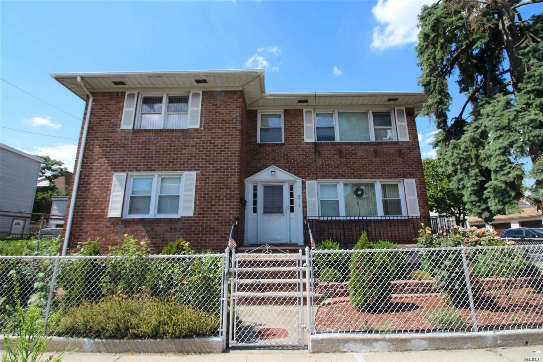 Property for sale at 84-19 95th Avenue, Ozone Park,  New York 11416