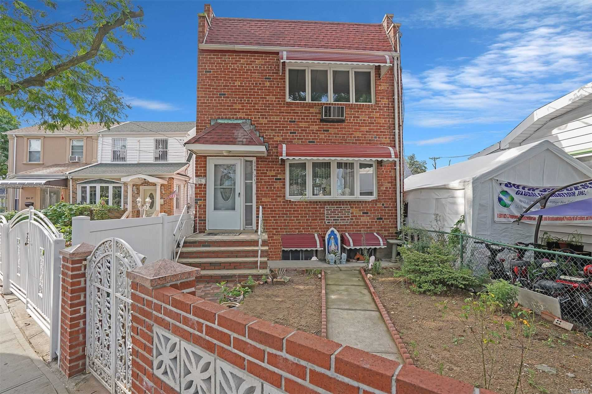 Property for sale at 104-21 Rockaway Boulevard, Ozone Park,  New York 11417