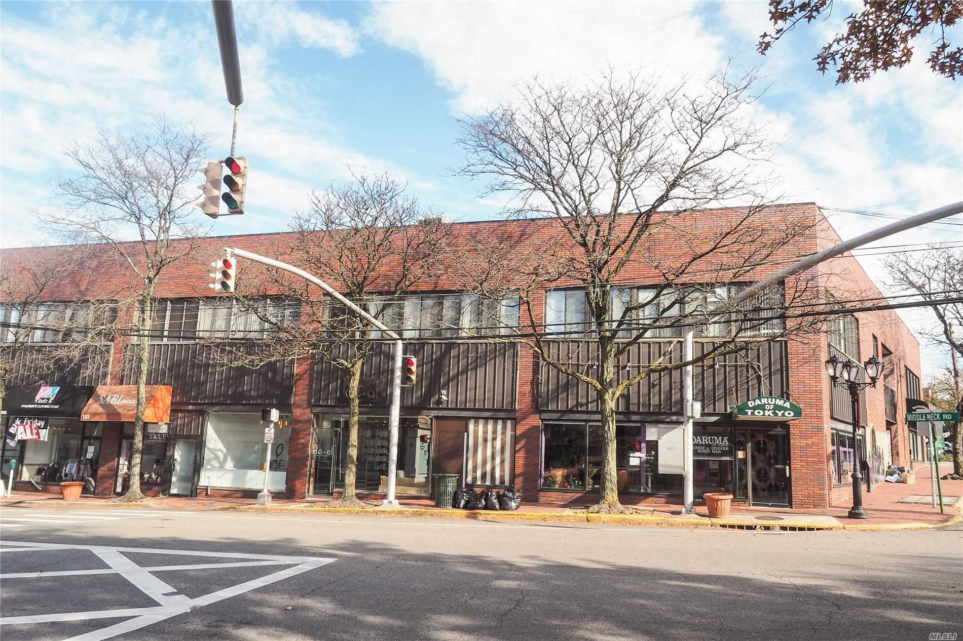 Commercial Lease in Great Neck - Maple Drive  Nassau, NY 11021