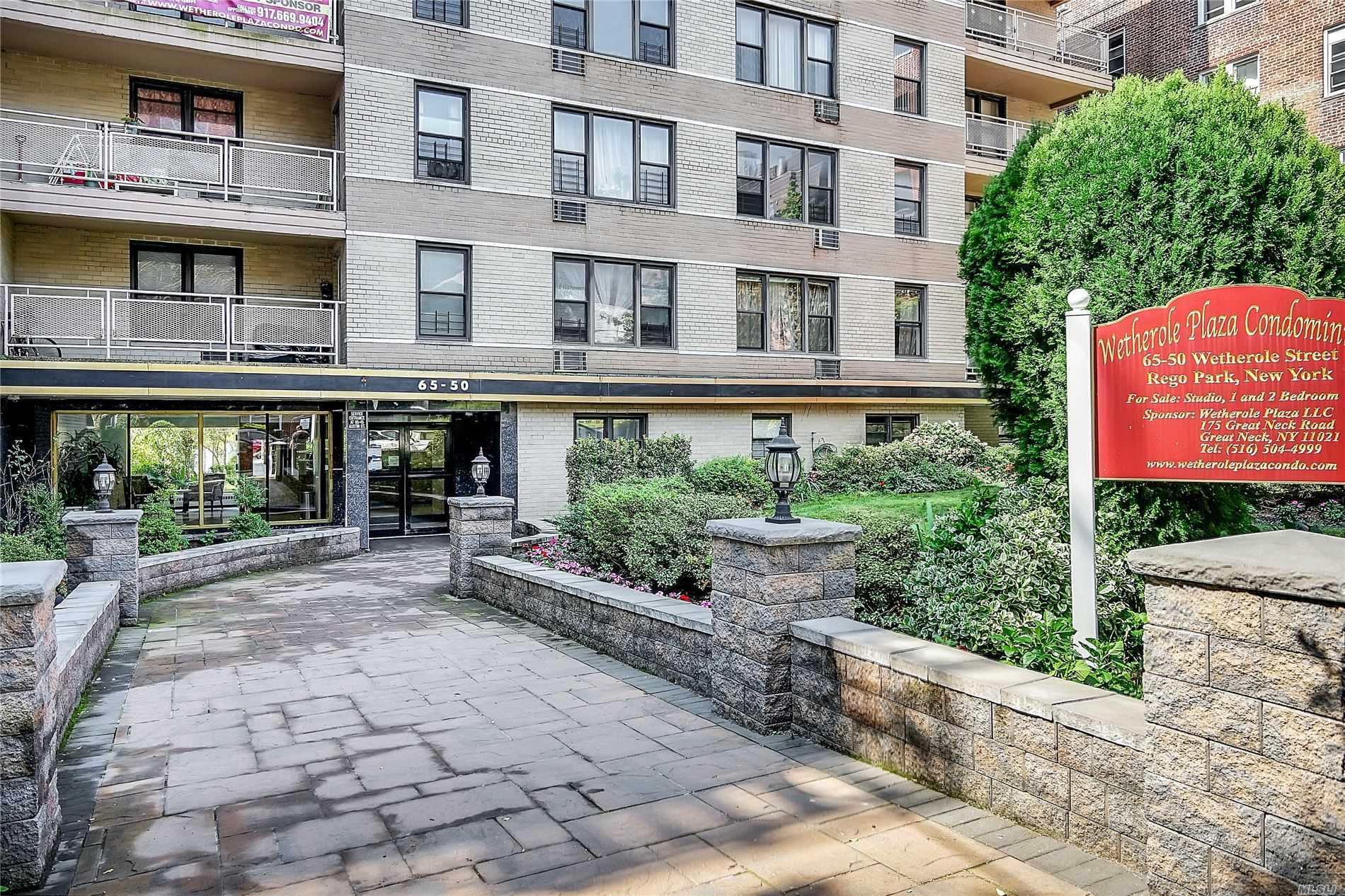 Property for sale at 65-50 Wetherole Street Unit: 1E, Rego Park,  New York 11374