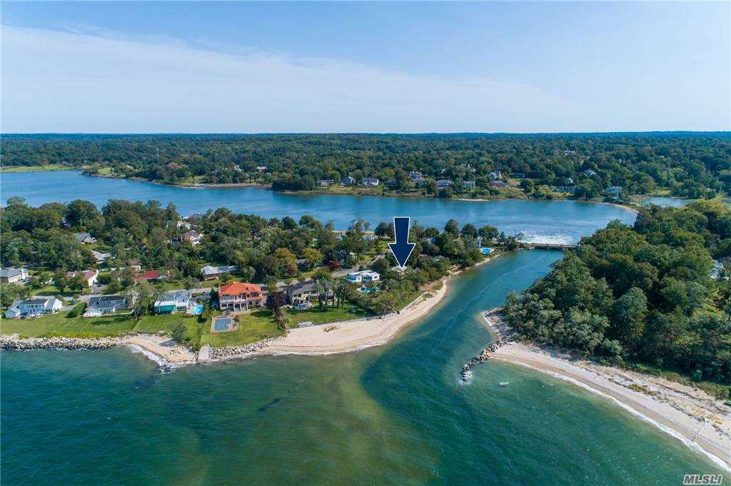 Wonderful Morgan's Island Waterfront. Panoramic Water Views From Every Room In This Beautiful 5 Bed Farm Ranch. Ideally Set On Half An Acre On Prestigious East Island. Enjoy Sunsets And The Sandy Beach Every Night. 2 Boat Ramps And A Private Beach ( Dues Req'd) Close To Glen Cove Golf Club, YMCA And Shopping..
