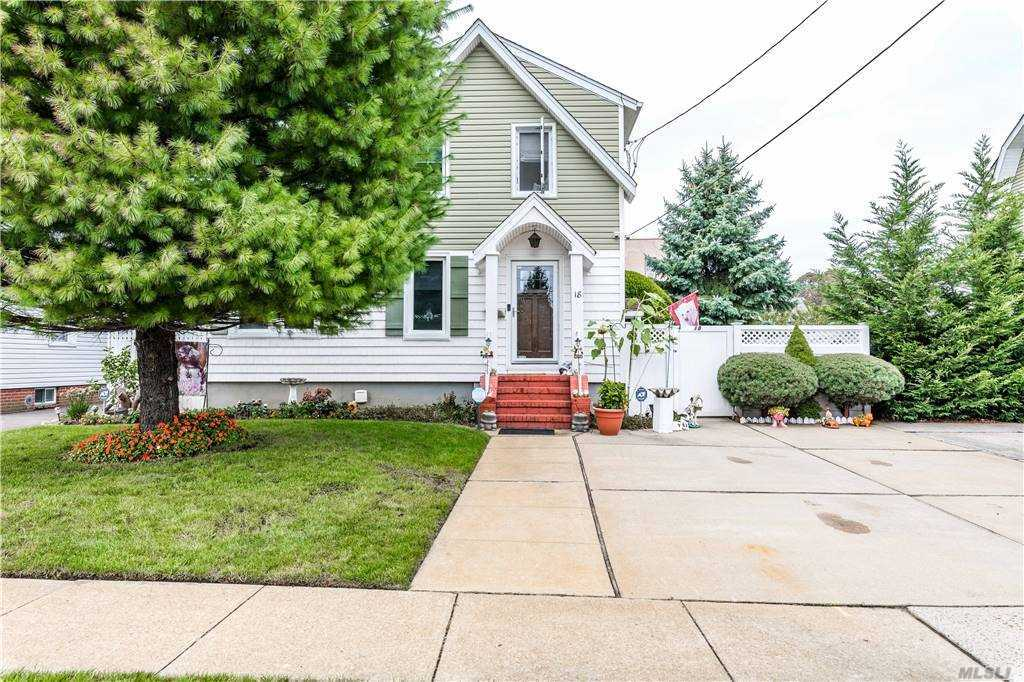 Great Home Perfectly Situated in the Heart Of Merrick !  Commuters Delight, Close to  the LIRR, Parkways, Dining and Shopping.  This Home, Meticulously Maintained, Boasts 3 Bedrooms, A Brand New White  Kitchen,  An Open Floor Plan, Oversized Sweeping Yard With A New Above Ground Pool. There is A Fabulous Covered Sun Porch with  Seating  For Entertaining and Shade.  Low Taxes Too ! Don't Miss This One!