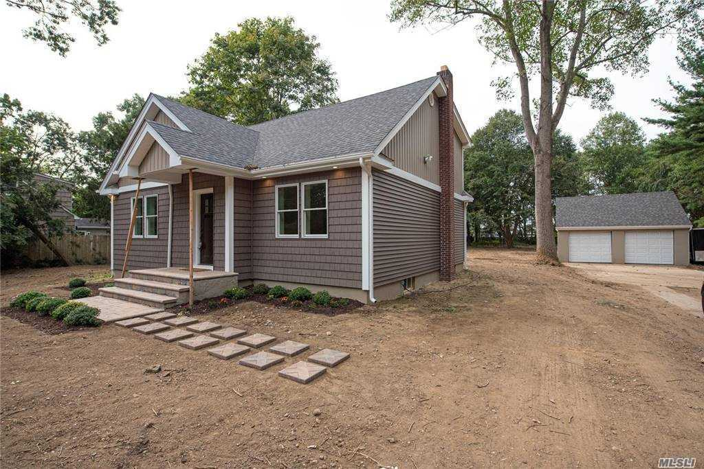 There's No Place Like Home...Totally Renovated New Englander W/Today's Look & A Quiet Country Feeling Nestled On 1 Acre Property. Horses Are Welcome Here So Saddle Up If You Like! Full Rear Dormer, Approx 2000 Sq Ft.  Open Floor Plan, Detached 2 Car Gar, Hardwood Floors, New Windows, CAC, Hydronic Heat, 200 Amp Elec, CAC, Arch Roof, Perfection Vinyl Siding, Portico. in front, brick patio in back. Open Floor Plan Flows From KIT, FDR, LR! Full Basement.