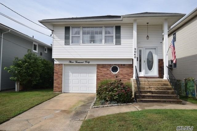 Lovely Hi Ranch South Of Atlantic Ave. No Flood Insurance Needed. 4 Bedrooms,2 Full Bath. C of C For Senior Res. Or Accessory Apt. Above Ground Pool With Security Gate. New Hot Water Heater. Wall to Wall Carpet. Hardwood Exists. Come Make It Your Own.