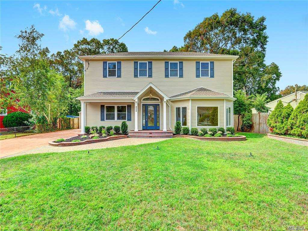 Move right into this beautiful, 4 bedroom, 2.5 bathroom, Colonial style home with full basement and 1-car detached garage. Renovations include, new designer kitchen with quartz counter and stainless steel appliances, new bathrooms, new flooring/carpeting, fresh paint, new siding, new roof, etc.  Mid-block location on dead end street, Centrally located to all!  Don't miss this opportunity!