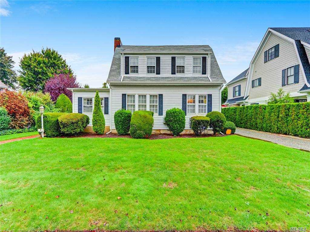 "A very rare opportunity exists here on ever beloved Cedar Place in Garden City. One of the most sought after blocks in the heart of the Central Section, this 2632 sq ft - 5 bedroom Colonial Home sits on oversized 75x113 property on privately landscaped yard. First floor offers entry foyer, over-sized  Living room w/fp, large formal dining, family room/den with fireplace, Kitchen with large breakfast room, large bedroom on first floor and .5 guest bathroom and washer and dryer. Second floor includes master bedroom w/ensuite bath, 3 additional bedrooms and hall bathroom. Basement has storage,mechanicals and possible rec space. Detached two car garage.  BUILDERS/INVESTOR OPPORTUNITY HERE. Make this home your own on magical Cedar Place. Unlimited potential. 4 blocks to center of town, restaurants, dining and transportation..Infrequently offered, don't miss this great listing that rarely presents itself. *THIS HOME IS BEING SOLD IN ""AS IS"" CONDITION..."