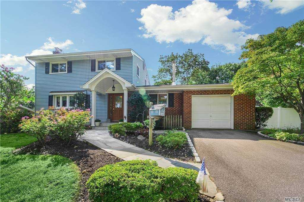 This Perfectly Situated Colonial Home Is Located In Dix Hills Within The Commack Schools. The Newly Updated Kitchen Is Open To The Living Room & Dining Room Allowing For Great Entertaining Space w/ Granite Tops/ Title Back Splash/SsAppl's.& Perfectly Situated In The Back Of The House Which Also Makes For Easy Outdoor Summer Entertaining By The Inground Pool Or Just Relaxing In The Sunroom. The Home Features An Open Floor Plan/ Wood Burning Fireplace In Living Room/ Updated Baths. Additional Amenities Include Updated Windows/Leased Solar Panels/Young Cesspool/200 Amp/Whole House Generator & So Much More!!