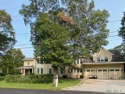 Builder's own- 5 Bed rooms 5 1/2 baths situated in Westhampton, south of the highway you'll find this huge renovated colonial featuring 5,000 square feet of living space. Upon entering, the attention to detail can be seen throughout. The main living area offers formal dining room, half bath, living room with fireplace, newly finished wood floors, and a guest suite with full bath. A true gourmet custom kitchen with brick oven and laundry room. The second floor is complete with a large master with steam shower, fire place, a balcony overlooking rear yard and large sitting area/office. A large walk in 1300 sq ft unfinished room over the garage. Three additional bedrooms and baths. Home has a large 2000 sq. ft. basement with fireplace and outside entrance. Large 36x36 three car garage with no lally columns and 13 foot ceilings. Must see to appreciate all the amenities! Too many to list.