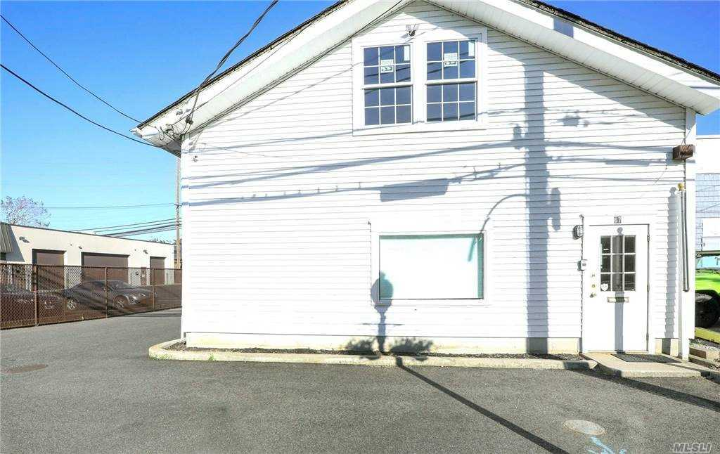 Great Opportunity to Buy a Commercial Building in Babylon Village. Can Be Used as Office, Retail, Industrial or Warehouse Space. 932 Square Foot Building has Open Room When You Enter, 2 Private Offices, 1/2 Bath, Conference Room with Kitchen Area, 2nd 1/2 Bath and Door to Rear. Private Door to 2nd Floor with High Ceiling that Can be Built-Out to Suit Your Needs.  Detached Garage with 801 Square Feet and 2 Overhead Doors.  50' x 130' Parcel.  Taxes are $8,457 Including Village Taxes of $667.