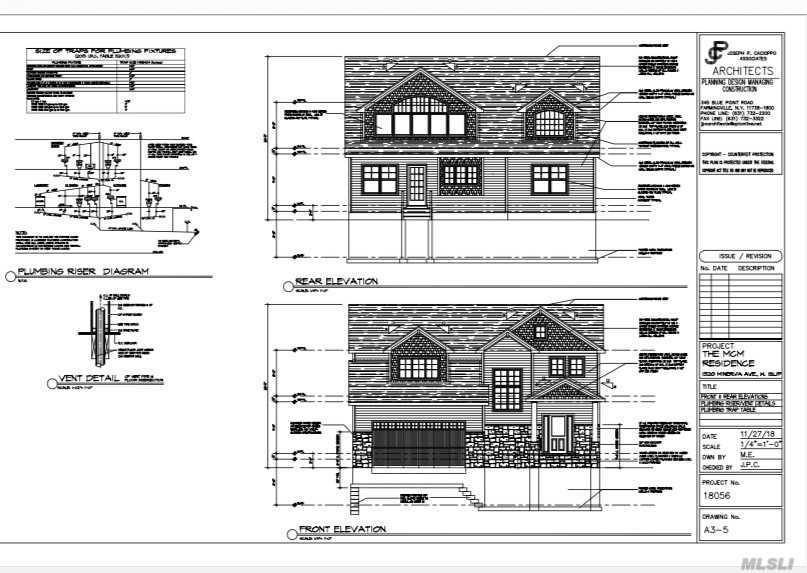 Have Your Dream Home Built by the Owner of This Shy 1 Acre Parcel of Land Located South of South Country Road in East Patchogue!  Builder Can Build an Approximately 3,800 Square Foot Home with 4-5 Bedrooms, 3-4.5 Baths, 2-Car Attached Garage and Full Basement.  Call to Set Up a Meeting to Meet with the Builder to Discuss.