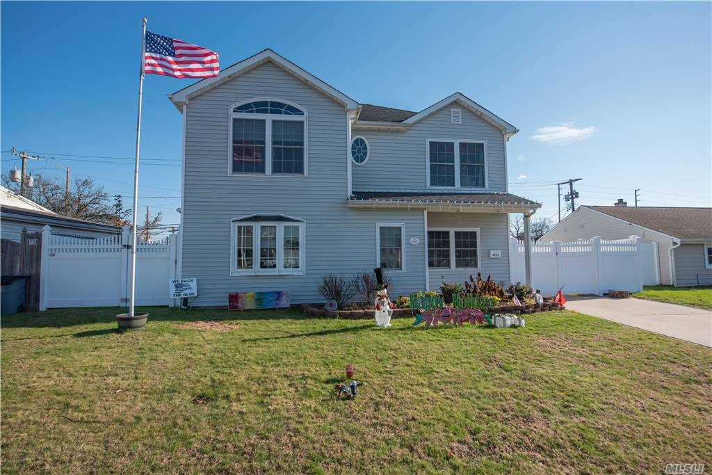 Beautiful renovated Colonial with an open floor plan. Whole house redone in 2006. 2 zone heat, 1 zone Central Air, All large bedrooms, Master has magnificent cathedral ceilings with a walk in closet. 200 amp electric, LED lights.  Four/six car Drivewy. Nothing to do here but unpack and move right in. Taxes Have Never Been Grieved..! These taxes Do Not reflect Star Program reduction..