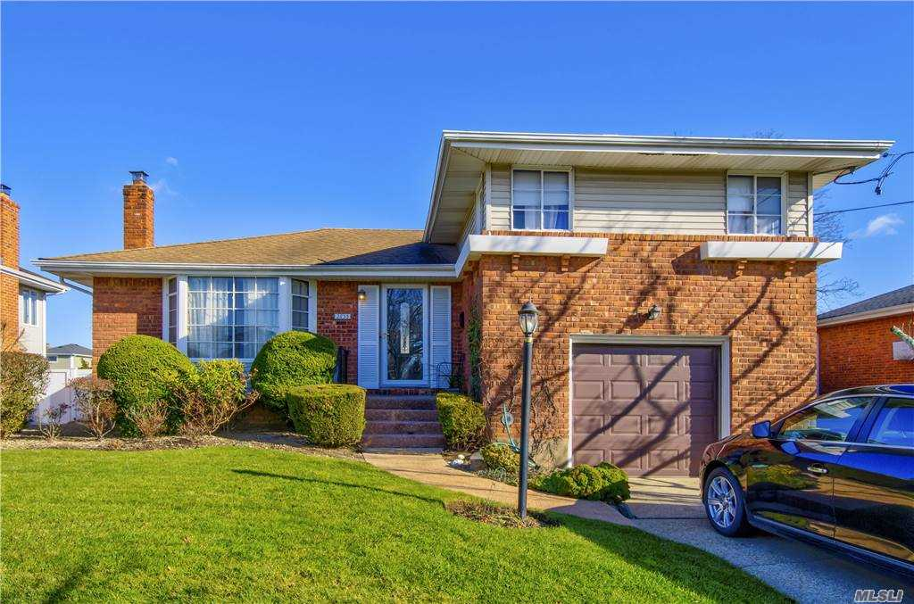 Well Maintained Split Level. Waterfront, with inground pool. Newly refinished hardwood floors.