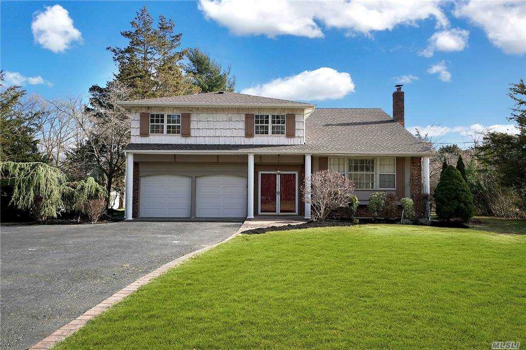 Dramatic 4/5 Bedroom Colonial, Beautifully Renovated, Newly Refinished Hardwood Floors, Plus Marble/Tile,  Freshly Painted; Updated EIK with Maple/Cherry Cabinetry, Granite and Upscale Stainless Steel Appliances; Central AC-8 Years, Newer Roofing- 2 yrs,  Updated Baths; Economical and Quiet Gas Hot Water Heating, Paver Patio Plus Wonderful Rear Yard-All Flat and Usable. 2021 Property Taxes w/Basic Star $14,034.