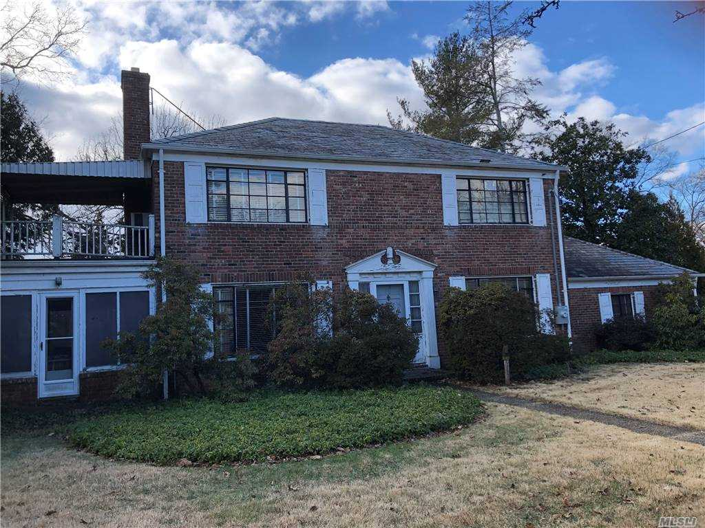 Plandome Heights Center Hall Colonial 3 Bedrooms 2.5 Baths Location close to town, train & shops Needs work. Great Potential-Perfect opportunity being sold AS IS.