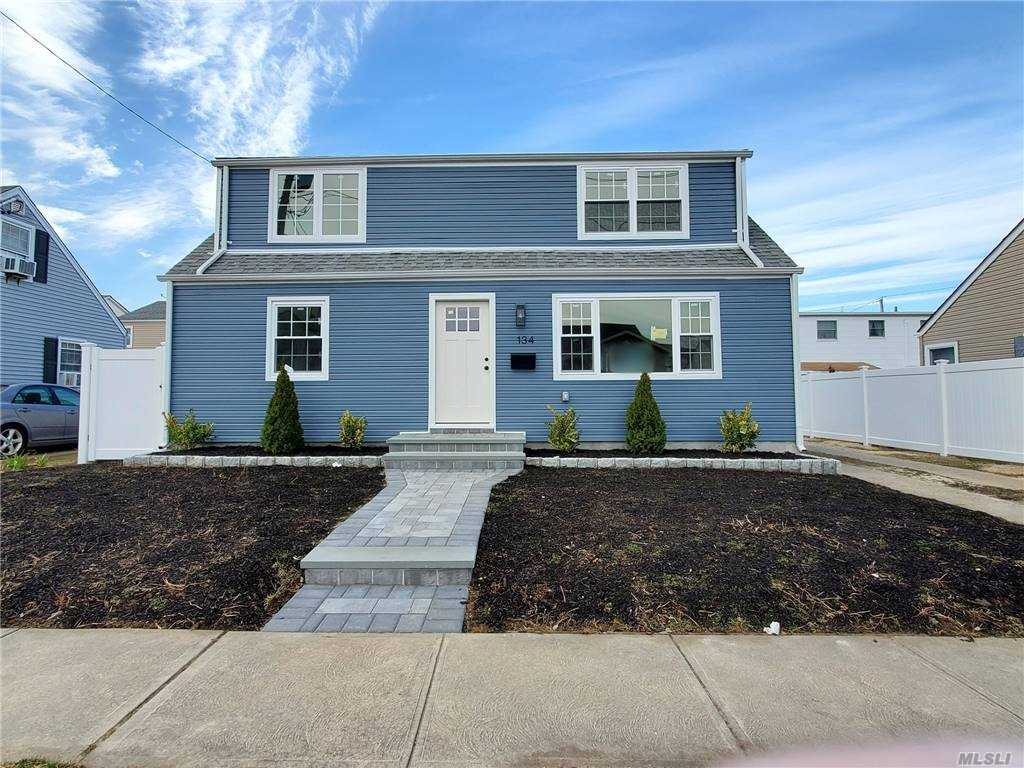 FIRST SHOWING AT OPEN HOUSE! Newly Renovated Cape with open floor concept. 5 Bedrooms, 2 Baths, LR, FDR, Office/Den/2nd LR, Laundry Room