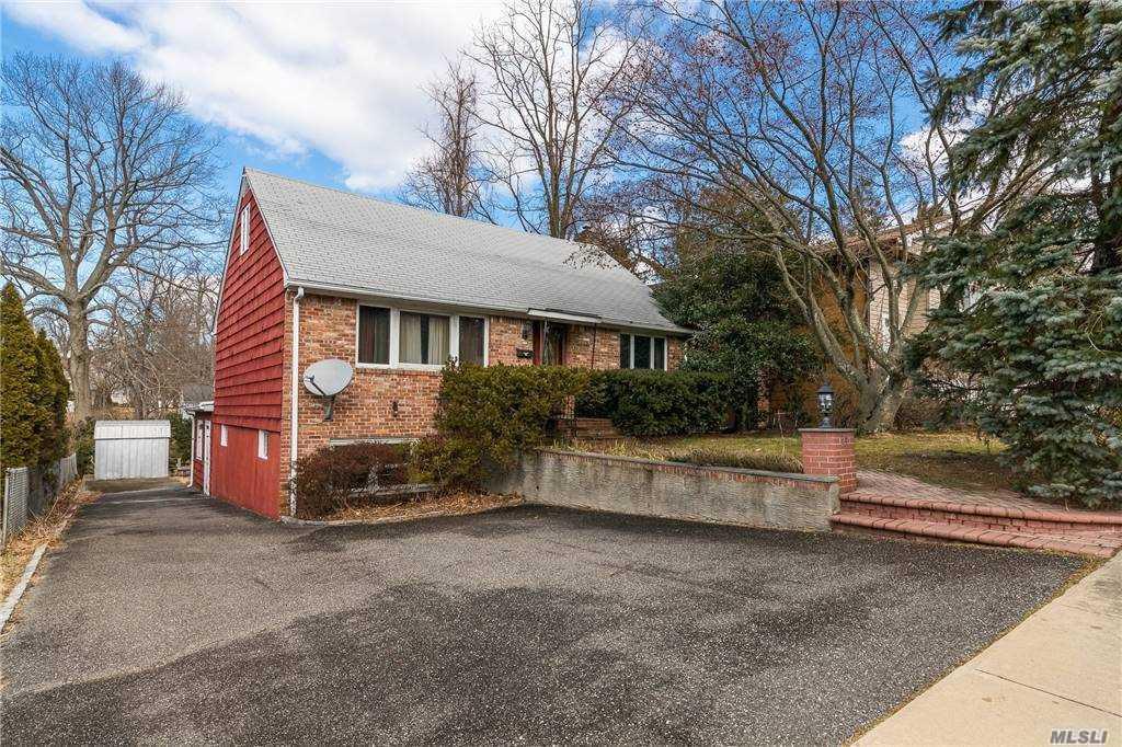 Welcome to this lovely updated decieving cozy home in the heart of Port Washington.This house has so much to offer... costum made Eauropian style ktchen cabinets w/soft closing draws, granite counter tops, stainless steel appliances Bosch dishwasher, pantry EIK w/ exit to Deck that looks over tremendous backyard  , Great for entertainment !Hard wood floors throught out.Anderson windows.Oil tank above ground.!1st Floor has livivng room ,dinning room 2bedrooms full marble bathroom /jaccuzzi and bidet . 2nd Floor 2bedrooms full bathroom. Full basement ,full bathroom and two extra bonus room / a separate entrence. One of the rooms can be used for wine cellar or GYM! Must see it  in person