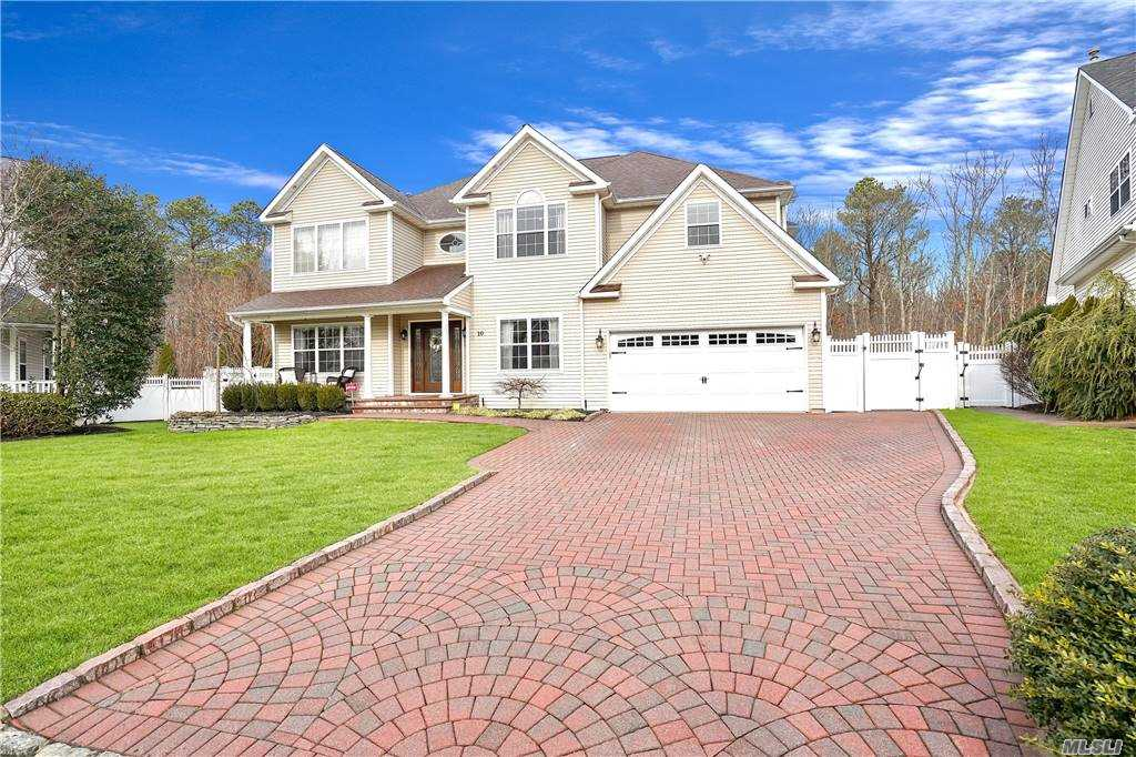 Stunning home with attention to detail! A truly must see home loaded with high end amenities.  Granite eat in kitchen with center island perfect for entertaining!  Beautiful formal dining room, 2 story living room loaded with light.  Family room has built in wall unit and fireplace and is open to kitchen and dining area.  The exquisite master suite features 2 walk in closets and luxurious master bath.  This designer home features central air, central vac, HW floors throughout, crown moldings, full finished basement with outside entrance and full bath, lots of storage and gym, Private backyard with in ground pool and stone patio backs to preserve.   Cul de sac location!  Be the envy of your friends in this well appointed home.