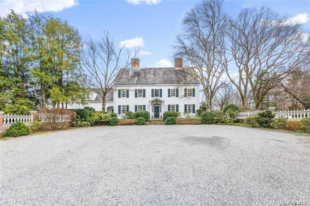Oyster Bay Cove - A North Shore treasure. Built by the Pratt family, this stunning estate is set on 11.96 acres of lush gardens, specimen trees and beautiful grassy fields. A classic colonial filled with elegance and grace. The house features large principal rooms flooded with natural light, high ceilings, crown moldings and 7 fireplaces. Additional interior features include: a chefs's eat-in kitchen with center island, great room with soaring ceilings, fireplace and French doors leading to the outdoor patio. The in-ground gunite pool with pool houses, summer kitchen and magnificent gardens will host summer entertainment and recreation.3 car garage. Close to vibrant Oyster Bay Village, parks, clubs and Oyster Bay Cove Village Beach. The property borders 7 acres under conservation easement and is steps away from the 200 acre Tiffany Creek Nature Preserve w/direct access to endless hiking trails. Enjoy nature, privacy and tranquility every single day*Taxes being corrected and reassessed.