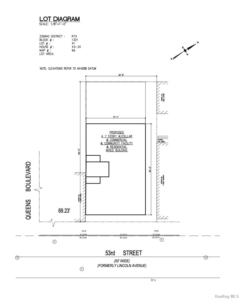 Land in Woodside - 53rd Street  Queens, NY 11377