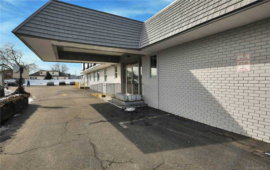 Medical, Office or Retail Space for Lease in Prime Location with Great Street Exposure on Merrick Road in Massapequa with 1,459 Square Feet in Medical Building with 17,529 Total Square Feet on 1.21 Acre Parcel with 84 Parking Spaces.  Enter Front Door Into Foyer, Then Into Waiting Area with Reception, Reception/Secretarial Area,  2 ADA Half Baths, and 7 Exam Rooms, or Combination of Exam Rooms or Offices.  Rent is $32/SF and $3,800/Month.  Tenant Pays Their Own Gas Hot Air Heat and Electric.