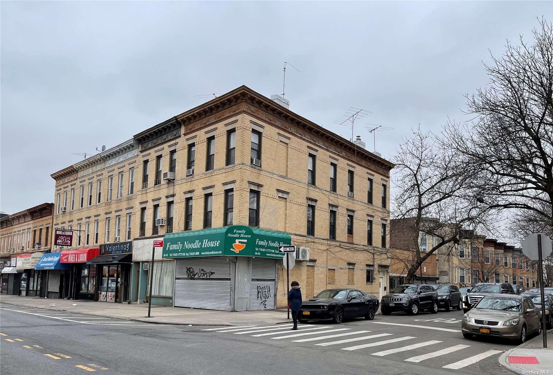 66-45 MYRTLE AVENUE, RIDGEWOOD, NY 11385