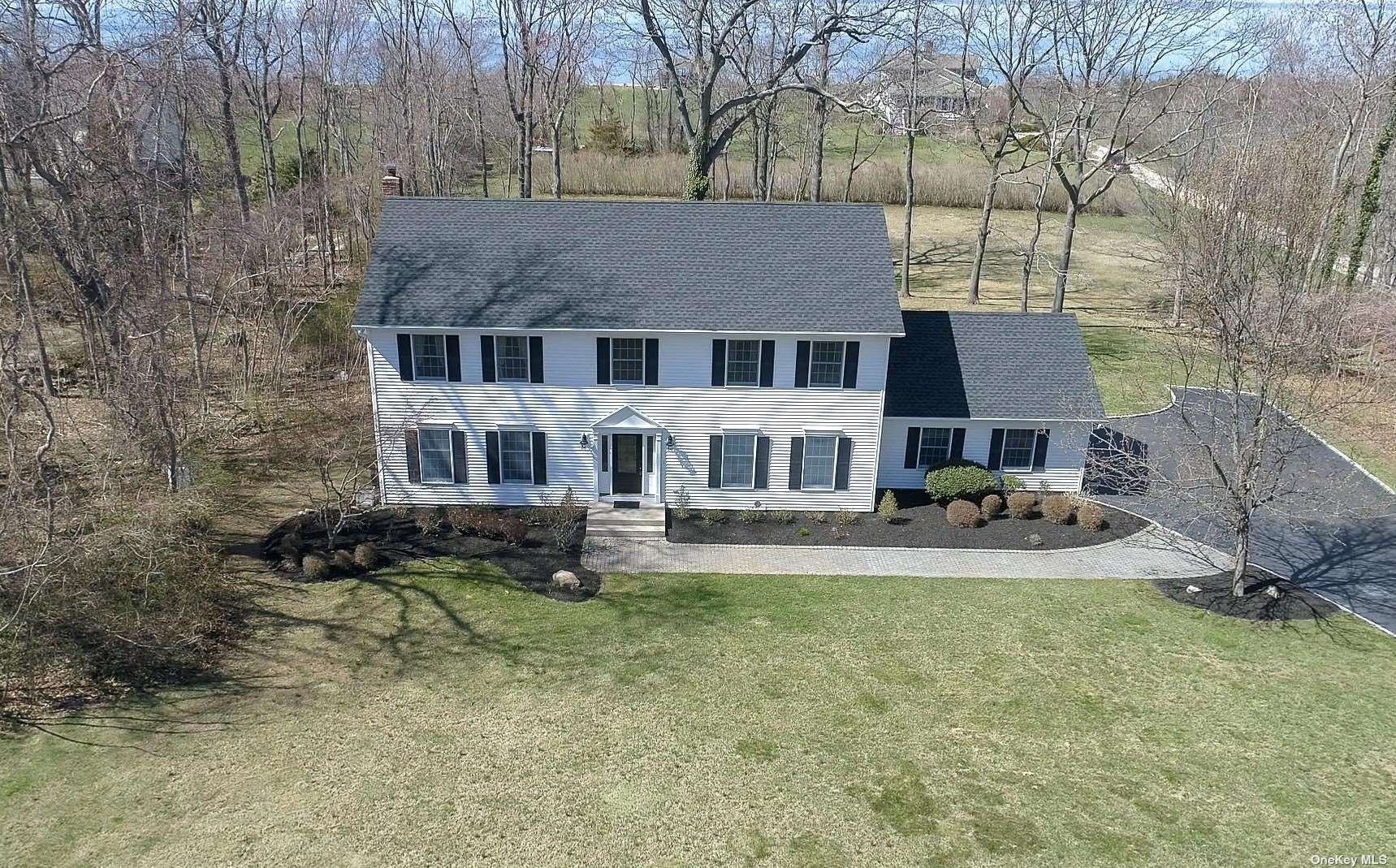 """What A View!!! Rare Opportunity To Own This Beautifully Updated 4 Bedroom Colonial With Magnificent Views Of The Long Island Sound With Deeded Beach Access, Walking Easement and 30' Of Your Own Private Beach. Tucked Away On 2 Acres At The End Of A Cul-De-Sac In The Village Of Old Field, This Very Special Home Boasts 2 Story Entry Foyer, New Custom Kitchen With 48"""" Thermador Range & Center Island Open To Den With Gas Fireplace & Sliders To Deck, Hardwood Floors Throughout, Andersen Windows, CAC, Grand Master Suite & Much More. Make This Your Year Round Home, or Perfect Weekend Getaway!! Taxes With Star $29,727.83"""