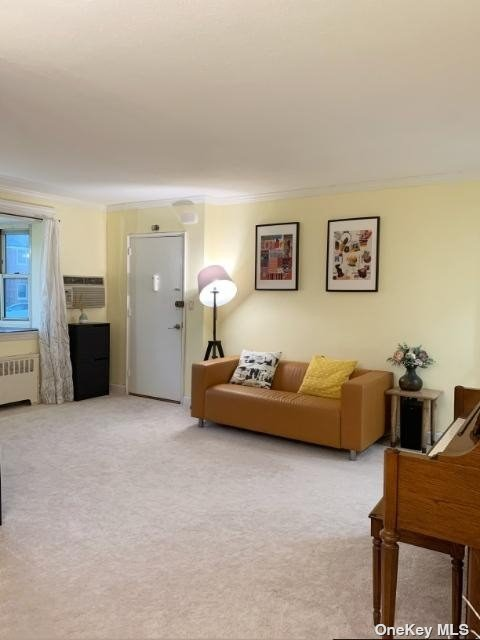 Move in Ready! Cozy one bedroom lower unit. Updated kitchen! Maintenance includes HEAT, GAS, Electricity, and 2 parking spots. A/C are extra. Cats are Ok! Amenities includes laundry, playground and security. Convenient to supermarkets. express buses to Manhattan, highways & shops. NO FLIP TAX! Subject to Board Approval. Maximum 3 people. Min. 20% Income Down Payment! Income Requirements is 32K + 20% Loan amount.