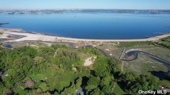 Option to build 8800 sq. ft. home by well-known luxury builder, Zarabi Development. Plans by Michael J Wallin, RARE OPPORTUNITY to build your dream home on impressive western facing 4.16 acres of waterfront property in Sands Point. 35 Soundview Lane is located at the end of a cul-de-sac and offers a multi sensory experience. Enter into a forest of trees to your home, walk a bridge over the running stream of water to access nearly 112' of private beach with skyline views. Option to build a dock. This property is truly the ultimate space to live, work and play! Sands Point is on the Gold Coast of Long Island's North Shore. It is a 36 minute express train ride to Penn station and boasts award winning Port Washington schools