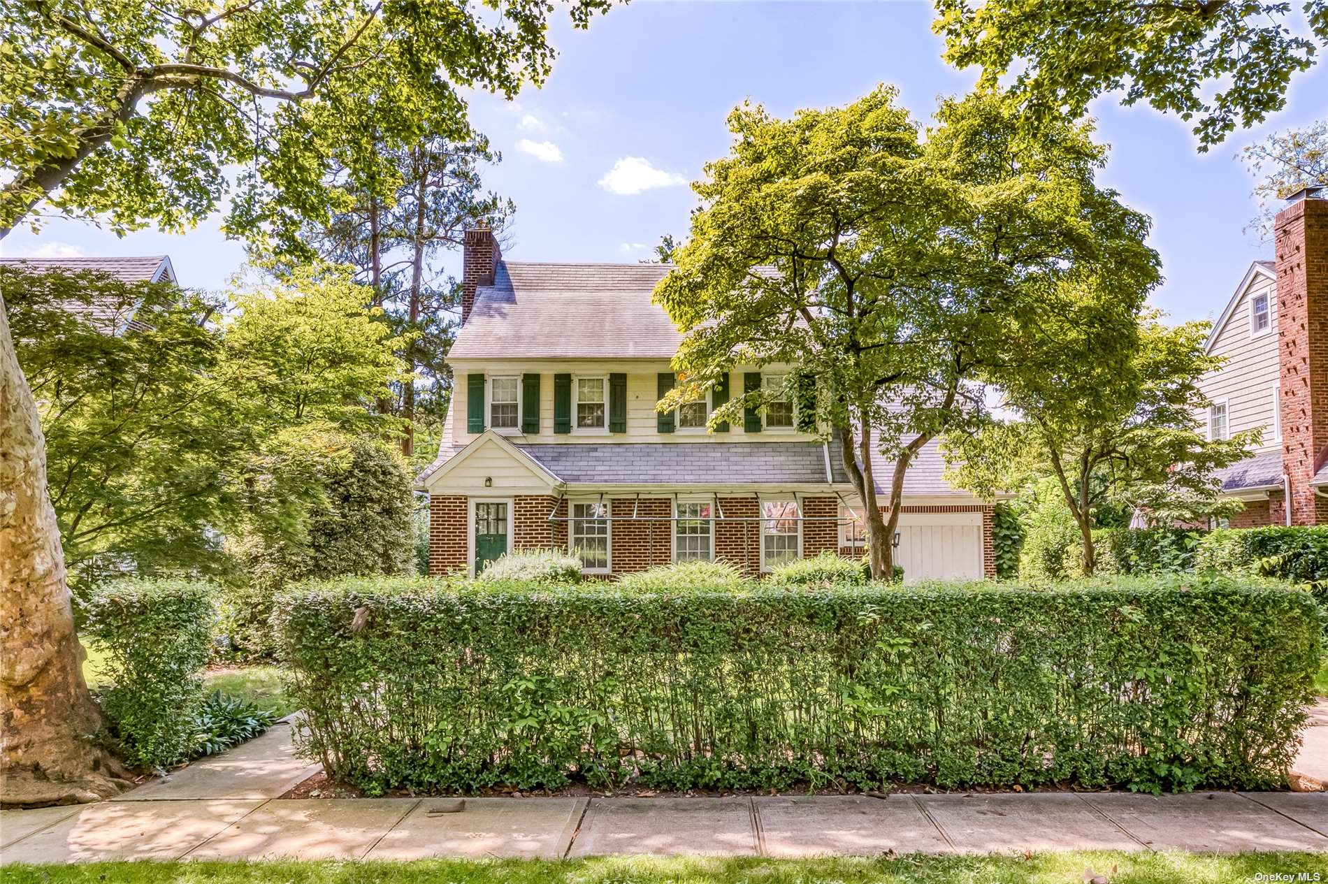 Classic 3 Bedroom 2.5 Bath Colonial in beautiful Garden City village with Garden City Schools.  Full Basement and Attic provide plenty of extra space to make your own.  Add a closet to backroom to create a 4th bedroom.  7 Minute walk to Stewart Manor LIRR station.