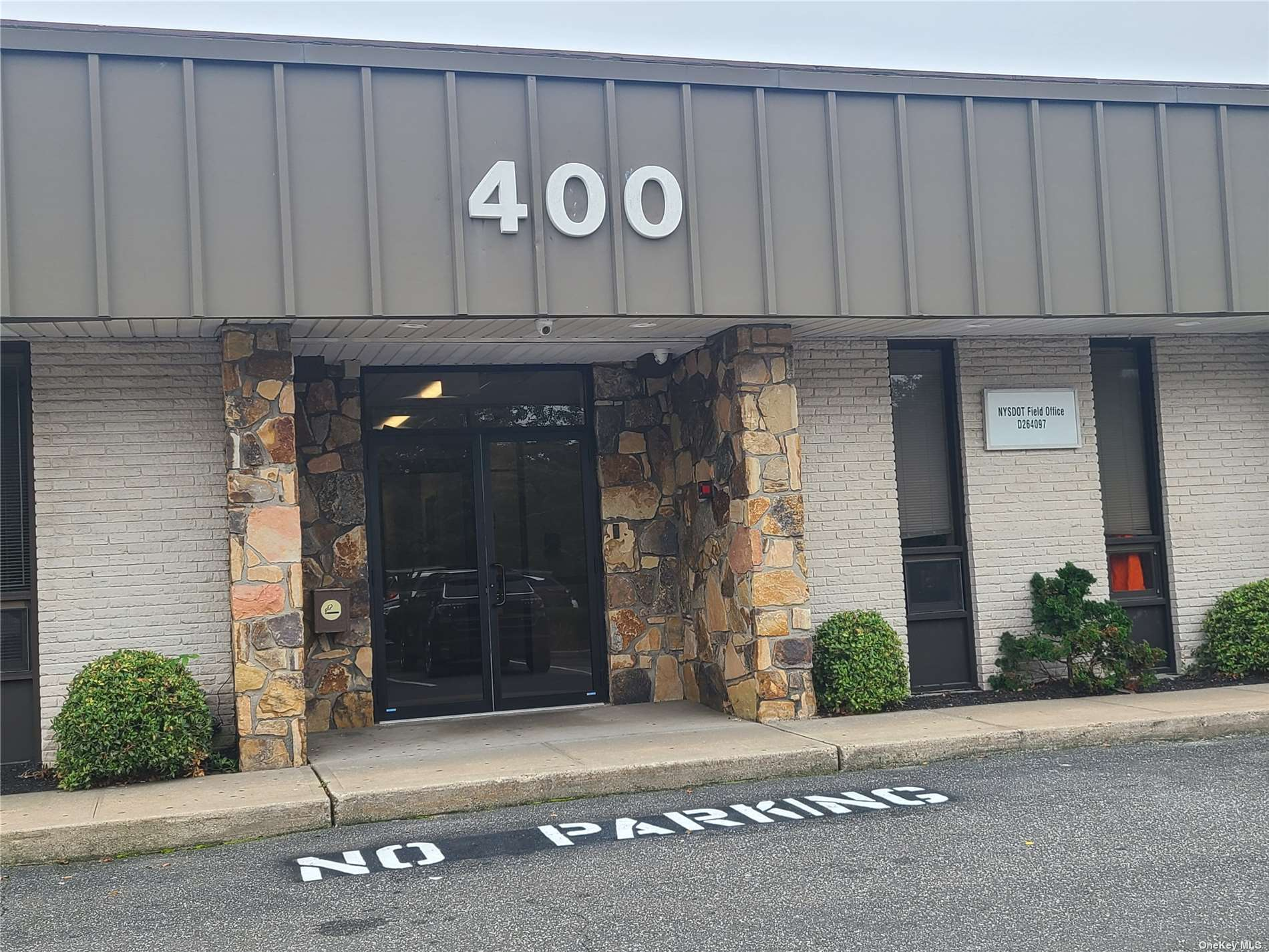 Freshly Painted 2-Room Suite with 258 Square Feet in the 400 Montauk Highway West Islip Professional Office Building in West Islip Where Route 231 Meets.  Rent Includes Heat and Central Air Conditioning.  Tenant Pays Their Own Electric.