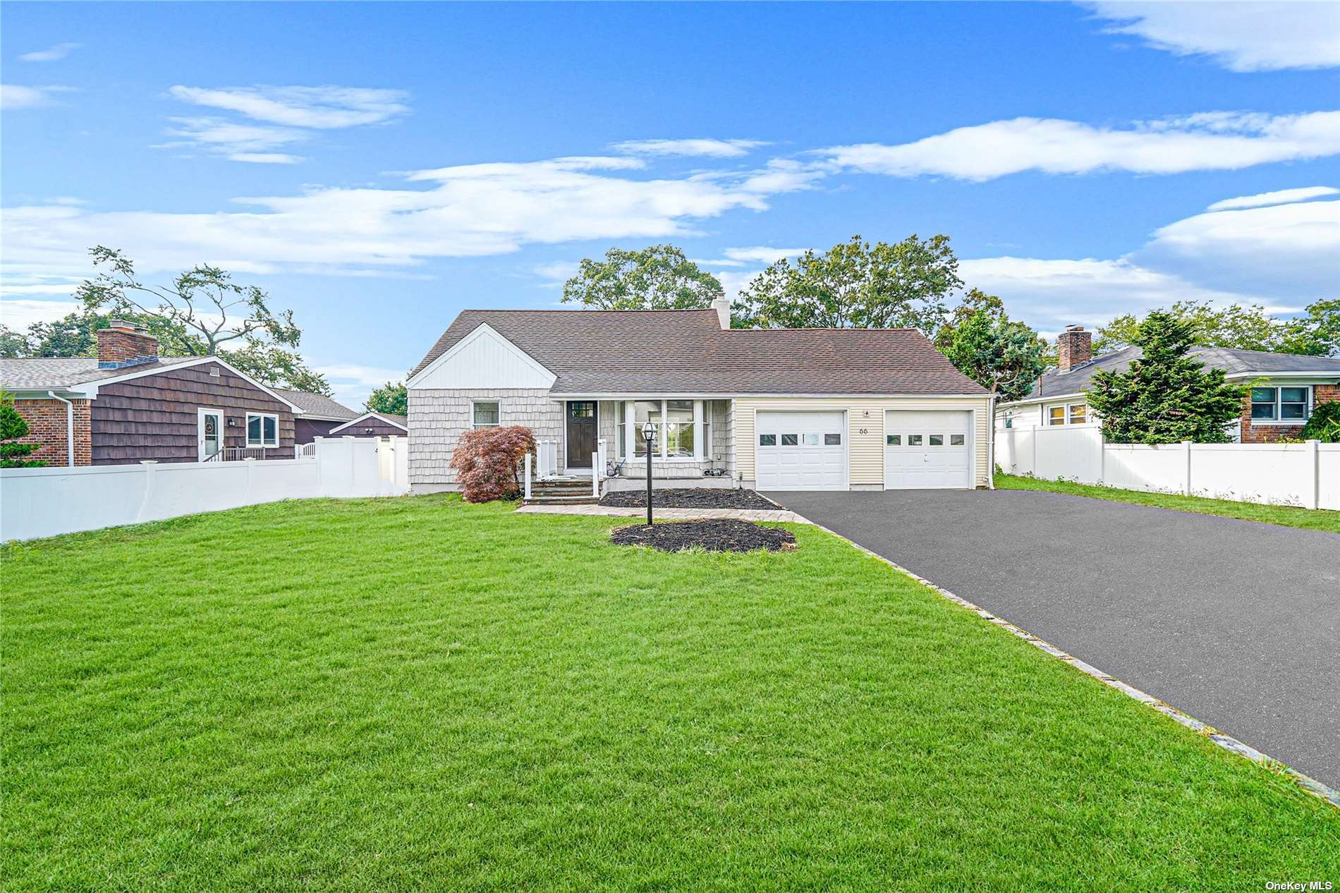 Magnificent Newly Renovated Lakefront Exp Cape With Over 2400Sqft Of Living Space In West Islip! This Beautiful House Offers Resort Like Amenities Starting From Inground Pool To Kayaking and Canoeing From Your Own Backyard! A Must See Move In Ready Rare To Find 4 Bedrooms, 2 Bath With A Huge Sun Drenched Family Room Facing The Lake Will Give You The Joy Of Living On The Lakefront. House Was Gutted And Redone, Starting From Updated Kitchen With Pull-out Shelves & Quartz Countertop With New Appliances, New Baths, New Hardwood Floors Throughout, New Plumbing, New Sheetrock With Insulation, Updated Electric & New 200 Amps Panel, Updated Water Heater & Boiler. Newly Finished Basement For Lots Of Entertainment, Updated Pool With New Liner & Pump And 2 Car Garage With Lots of Storage. Incredible Big Yard Having Views Of Sunset And Swans In The Lake. Enjoy The Life On The Lakefront Property Like No Where Else! Ideal Location! Close To Major Hwys, LIRR And The Great Beaches Of The South Shore!