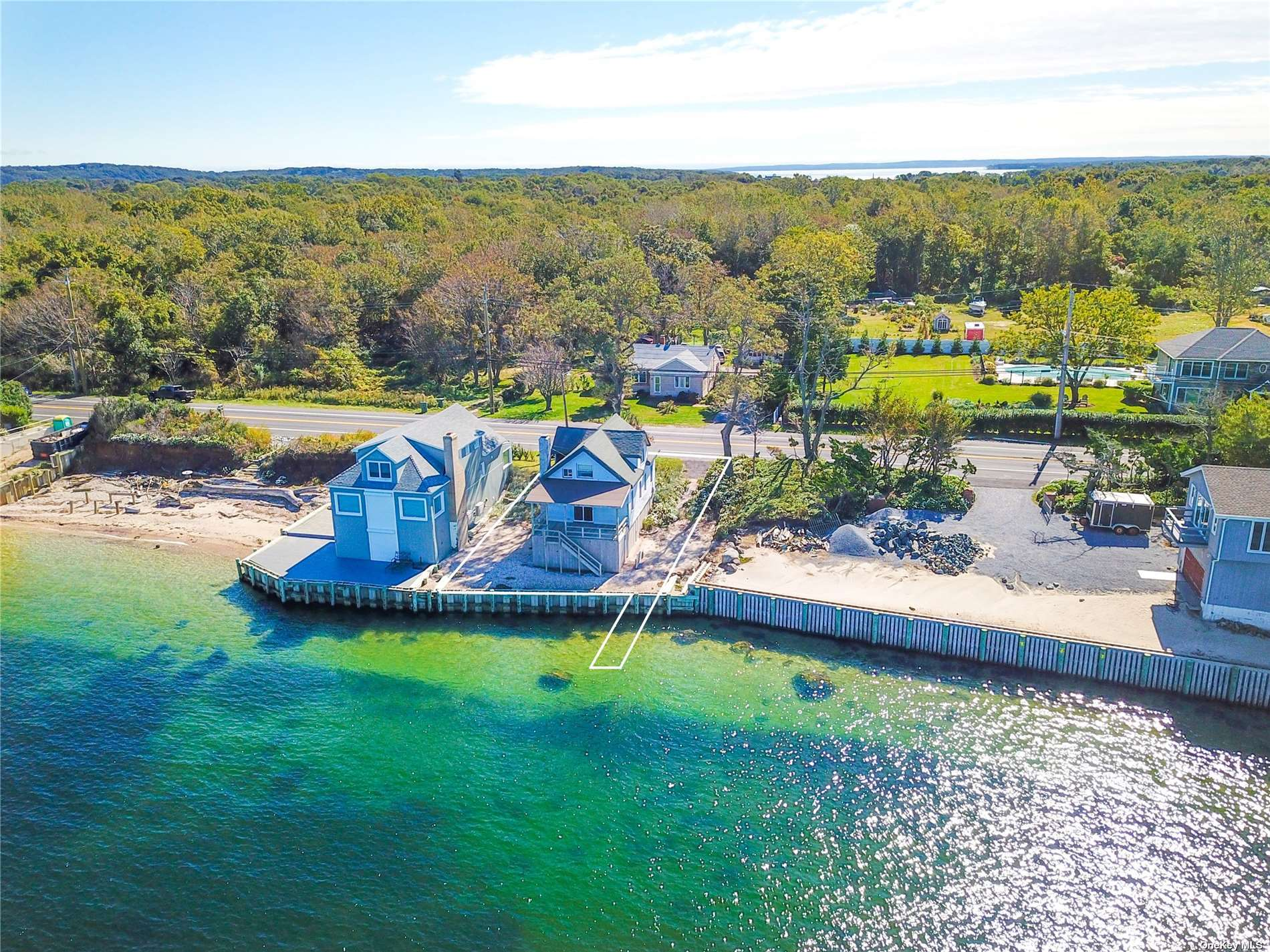 New to market is this adorable seasonal 3 bedroom 1.5 bedroom water-front home with 180 degree, unobstructed, forever water-views of the Long Island Sound. Harwood floors throughout w/ generous living area, charming kitchen and outdoor entertaining area!