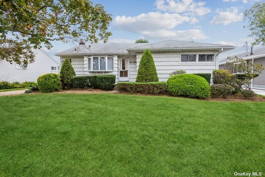 Bring your vision and imagination to make this Barnum Woods Lakeville Ranch your own.  This home has 4 bedrooms, Hardwood floors, 3 zone heating, 2 full baths and 1/2 bath in basement (no representation), heated basement, IGS, detached garage.  TLC needed.  Taxes do not reflect STAR.